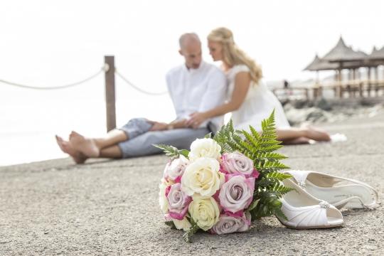 Hochzeitshooting am Meer