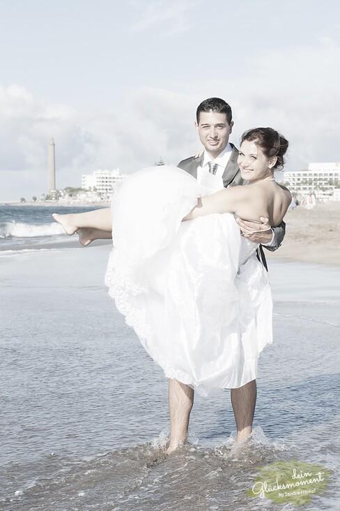 Hochzeitsshooting - Hochzeit  - Dünen Leuchtturm
