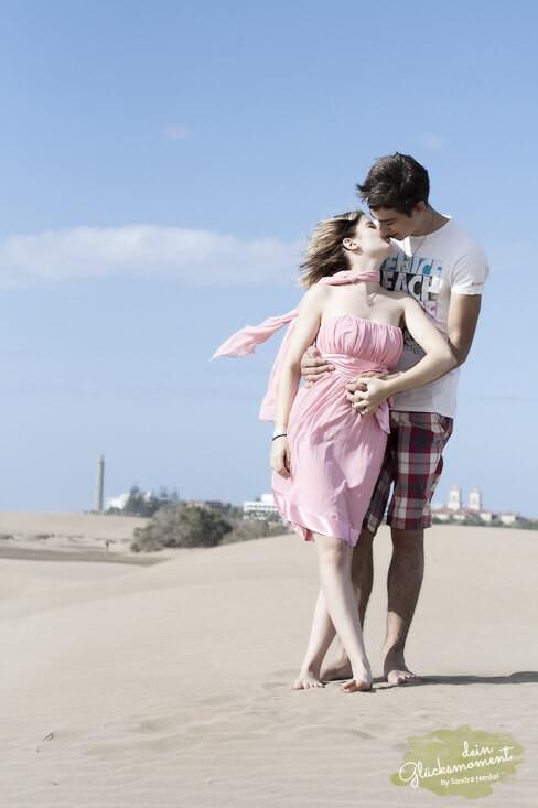 Frisch verliebt - Paare  - Dünen