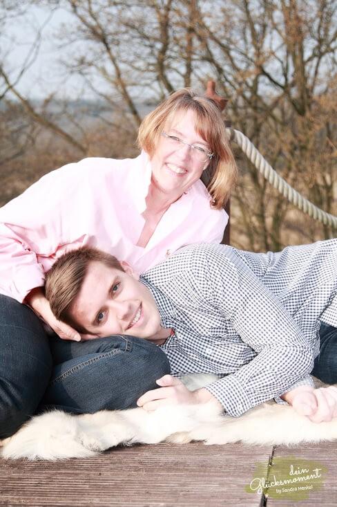 Mutter und Sohn - Familie  - Deutschland