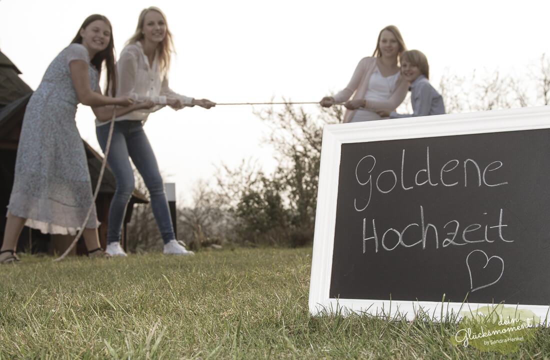 Shooting für goldene Hochzeit - Familie  - Deutschland