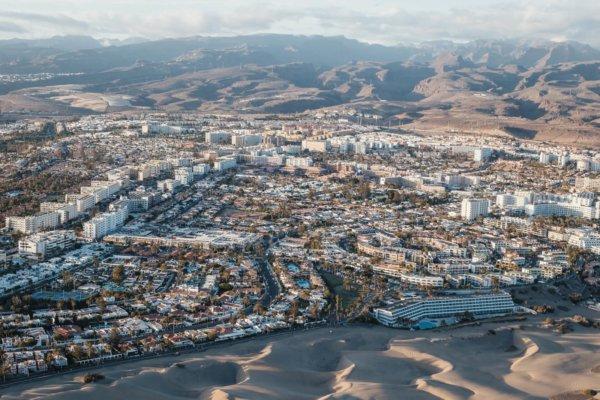 Luftaufnahme Playa del Inglés -  -